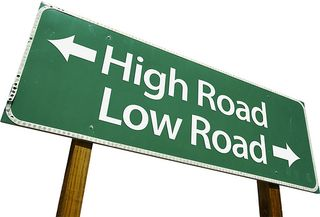 High road low road