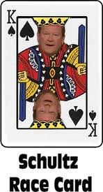 Schultz race card
