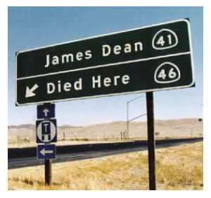 James_dean_died_here