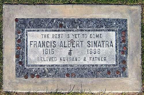Sinatra grave