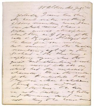 Thoreau journal