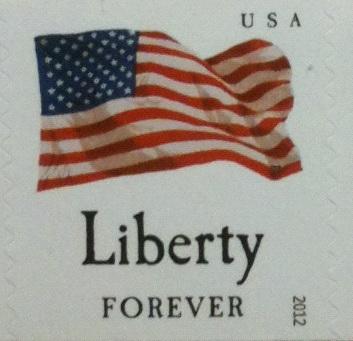 Liberty stamp