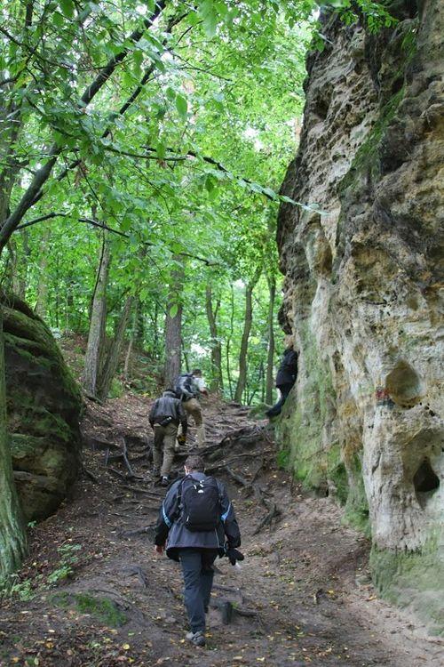 BV hiking outside Prague
