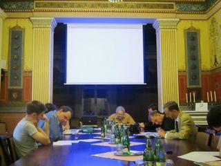 BV reading paper at Prague