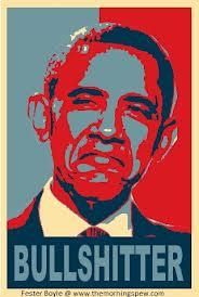 Obama bullshitter