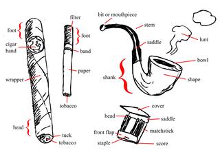 Smoking-parts