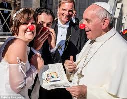 Pope buffoon