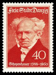 Schopenhauer stamp