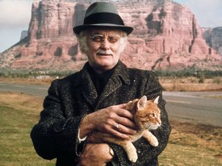 Cat with Art Carney