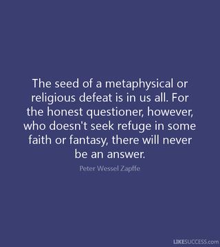 Zapffe quote