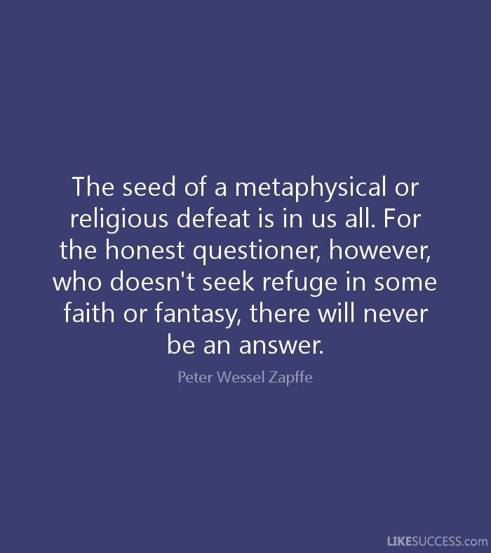 Maverick Philosopher Existentialism