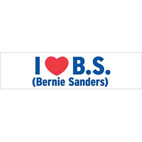 I heart B. S.