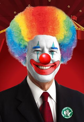 Biden the clown