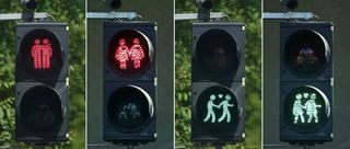 Gay traffic lights