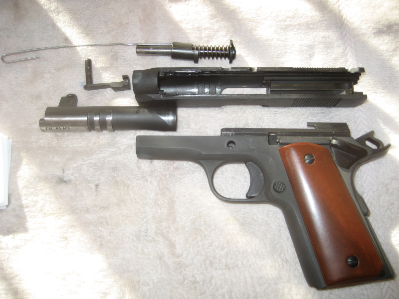 Disassembled 1911
