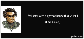 Cioran on Pyrrho