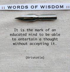 Mark educated mind