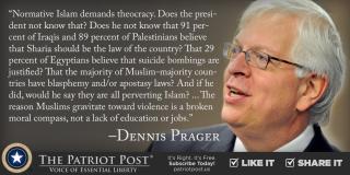 Prager on Islam