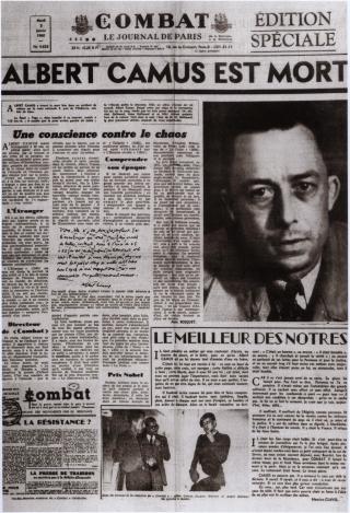 Camus est mort