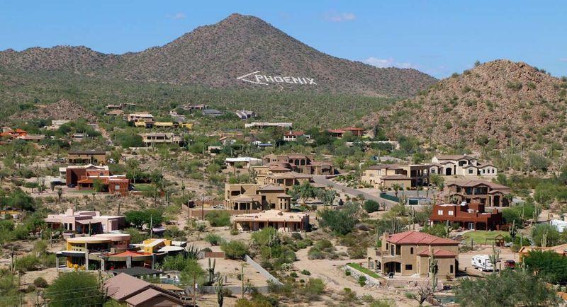 Mesa, AZ Phoenix sign