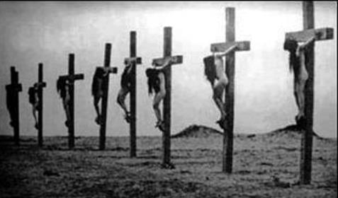 Crucified Armenian girls