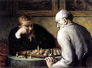 Honoré_Daumier The Chess Players 1863
