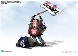 Intolerant Left