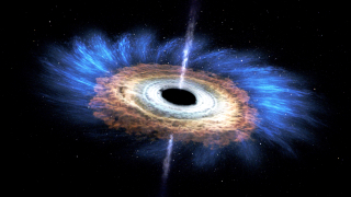 Black hole NASA