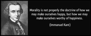 Kant morality
