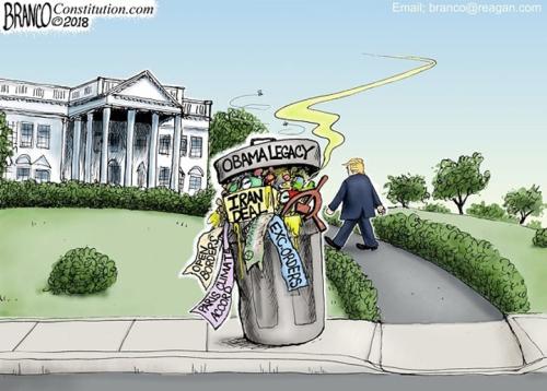 Obama shitcan