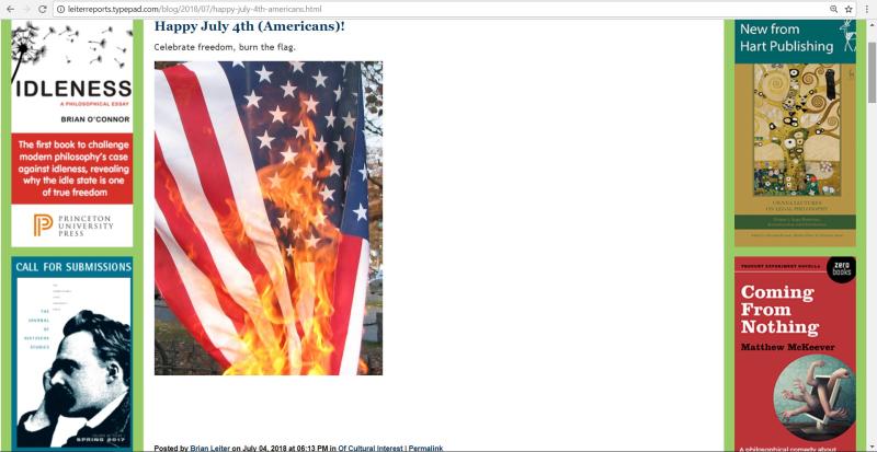Leiter-flag