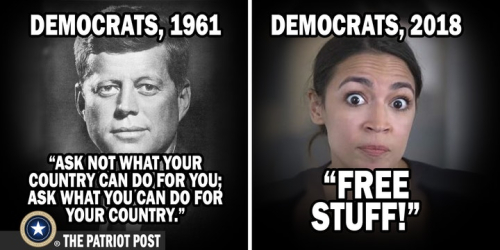 Dems then and now