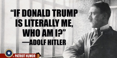 Trump = Hitler