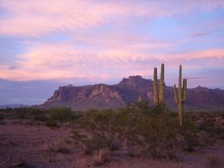 Superstition Mountain Peck