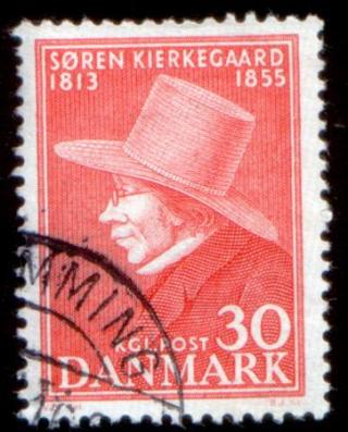 Kierkegaard stamp