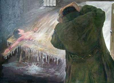 Freezing torture