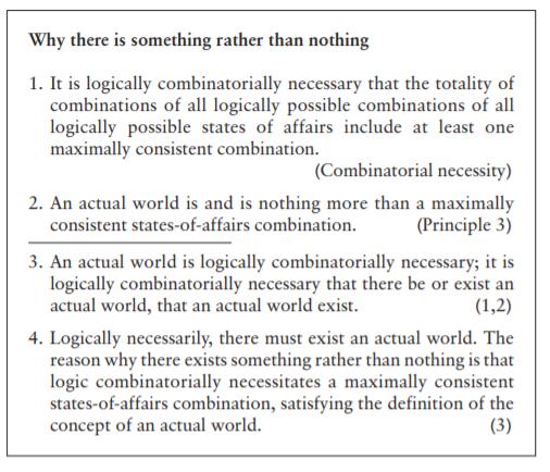 Why something not nothing